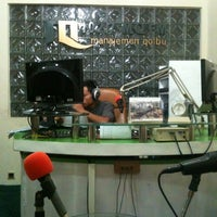 Photo taken at Radio MQFM Bandung by Erick Y. on 11/23/2012