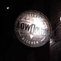 Photo taken at Lowdown Brewery+Kitchen by Ira M. on 2/15/2014