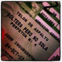 Das Foto wurde bei Teatro Telón de Asfalto von Rodrigo O. am 10/5/2012 aufgenommen