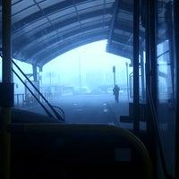 Photo taken at Dworzec autobusowy Rataje by Marta S. on 10/12/2012