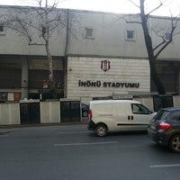 Photo taken at Beşiktaş İnönü Stadyumu Yeni Açık by Uğur V. on 3/13/2013
