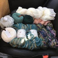 Photo taken at Jennifer Knits by Andie D. on 3/14/2017