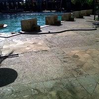 Photo taken at Nirmala Swimming Pool by kykynirwana on 2/8/2013