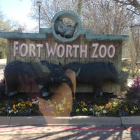 Photo taken at Fort Worth Zoo by John H. on 3/7/2013