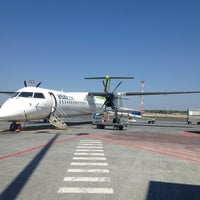 Photo taken at Riga International Airport (RIX) by Mārtiņš Š. on 5/16/2013