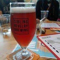 Photo taken at Sibling Revelry Brewing by Dave F. on 12/1/2017