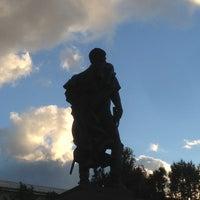 Photo taken at Памятник Багратиону by Eugene on 7/16/2013