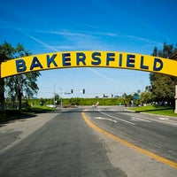 Photo taken at The Bakersfield Sign by gab f. on 11/27/2012