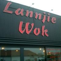 Photo taken at Lannjie WOK Restaurant by Drey on 12/19/2012