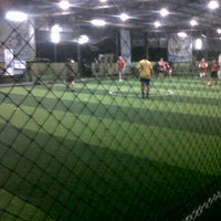 Photo taken at Cimahpar Futsal by Agung P. on 12/5/2013
