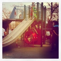 Photo taken at John Jay Playground by Emma L. on 4/10/2013