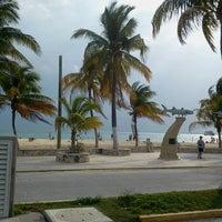 Photo taken at Playa Posada by Edwin Orlando K. on 3/11/2013