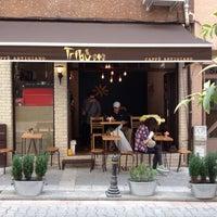 6/19/2015 tarihinde 🇮🇹 Defne 👼ziyaretçi tarafından Tribu Caffe Artigiano'de çekilen fotoğraf