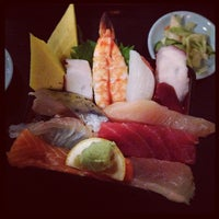 Photo taken at Sakura Japanese Restaurant by Cassie L. on 5/23/2013