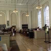 Photo taken at Alderman Library by Cayla C. on 10/27/2013