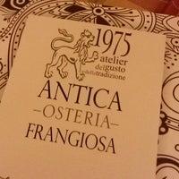 Photo taken at Osteria Frangiosa by Giorgio M. on 10/19/2014