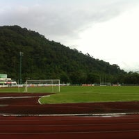 Photo taken at Ranong Province Stadium by atitap s. on 5/22/2013