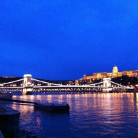 Photo taken at Chain Bridge by Ovidio S. on 11/6/2012