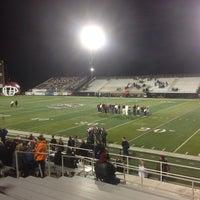 Photo taken at Jenks High School Football Stadium by Matt W. on 10/26/2013
