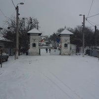 Photo taken at Monumentul Independentei by Alexandra C. on 1/25/2014