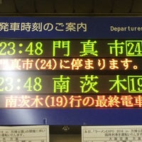 Photo taken at Osaka Monorail Dainichi Station by まつ mt40mh on 12/24/2016