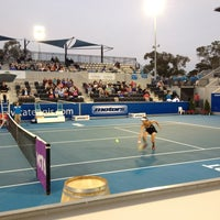 Photo taken at Hobart International Tennis Centre by Marcello M. on 1/7/2013