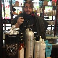 Photo taken at Distinctive Flair Hair Salon by Phil W. on 12/14/2012
