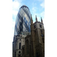 Photo taken at 63 St Mary Axe by Zhanna B. on 2/21/2015