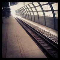 Photo taken at metro Ulitsa Gorchakova by настена к. on 11/1/2012