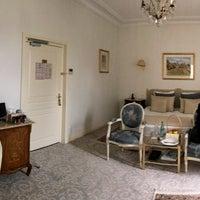 Photo taken at La Villa Eugène by Daniela on 4/2/2017