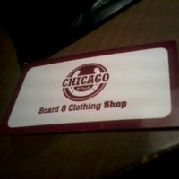 Photo taken at Chicago Board & Clothing Shop by Mati C. on 2/1/2014