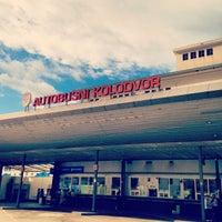 Photo taken at Autobusni Kolodvor Dubrovnik | Dubrovnik Bus Station by Jude L. on 9/22/2013