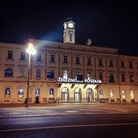 Photo taken at Železniška postaja Ljubljana / Train Station by Jude L. on 9/29/2013
