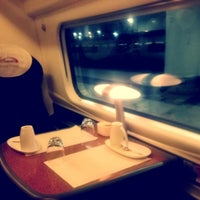 Photo taken at Virgin Trains First Class Lounge by Anthony I. on 12/6/2012