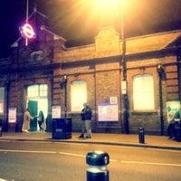 Photo taken at Upton Park London Underground Station by Anthony I. on 1/8/2013