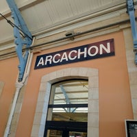 Photo taken at Gare SNCF d'Arcachon by Andrew D. on 4/29/2016