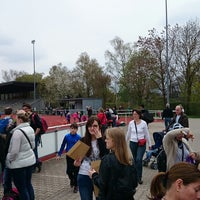 Photo taken at Volksbank Stadion by Andreas G. on 4/5/2014