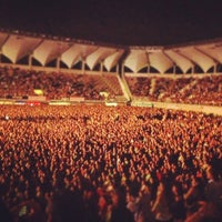 Photo taken at Estadio Bicentenario de La Florida by Constanza J. on 12/8/2012