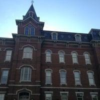 Photo taken at University Hall (UNIV) by Jeff J. on 5/11/2013