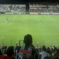 Photo taken at Estádio Joaquim Henrique Nogueira (Arena do Jacaré) by Helien M. on 12/16/2012