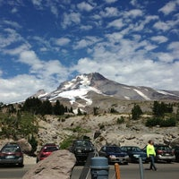 Photo taken at Timberline Lodge by Gordon S. on 8/9/2013