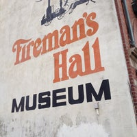 Photo taken at Fireman's Hall Museum by Dennis C. on 3/10/2013