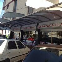 Photo taken at Panaderia y Pasteleria Alianza by Alexis C. on 12/15/2012