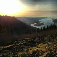 Photo taken at Angels Rest by William W. on 11/25/2012