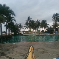 Photo taken at Holiday Inn Pool by silvia on 6/10/2014