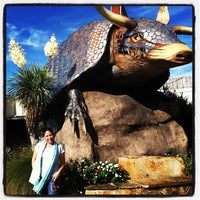 Photo taken at Goode's Armadillo Palace by Catherine S. on 5/4/2013