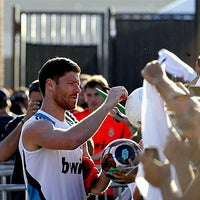 Photo taken at Real Madrid Practice Session by Jonathan B. on 10/3/2012