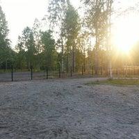 Photo taken at Ämmäpuron koirapuisto by Eetu H. on 7/24/2013