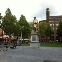 Photo taken at Rembrandtplein by Juraj on 10/5/2012