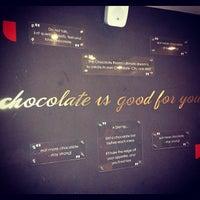 Photo taken at Chocolate Room by Karthik K. on 11/23/2012